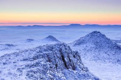 モンゴルの冬