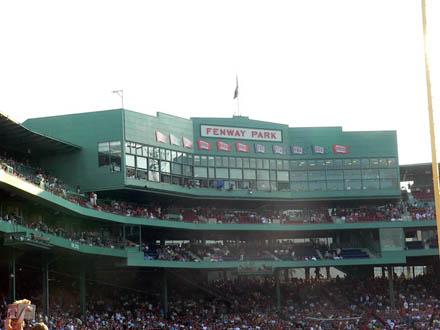 Red Soxの本拠地Fenway Park