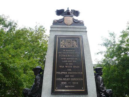 Somervilleの石碑