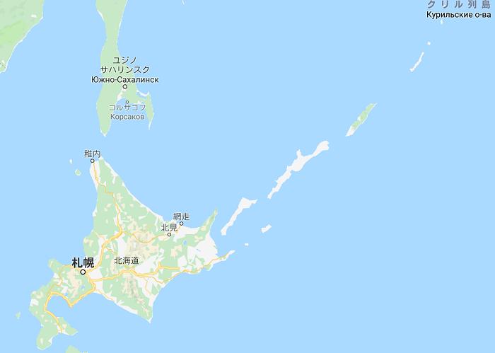 アイヌ地図
