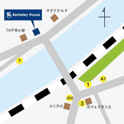 第二校舎地図