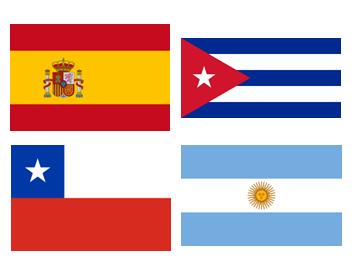 スペイン語話者の代表国